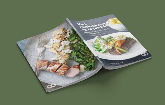 grafisk design Kød muskelproteiner Bogopsætning