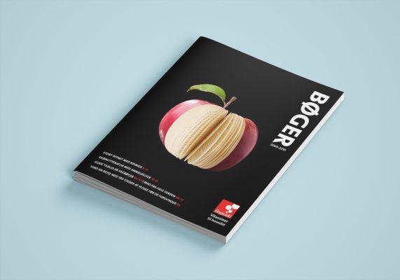 ide layout rentegning kreativ forside æble Bog og ide bogforum